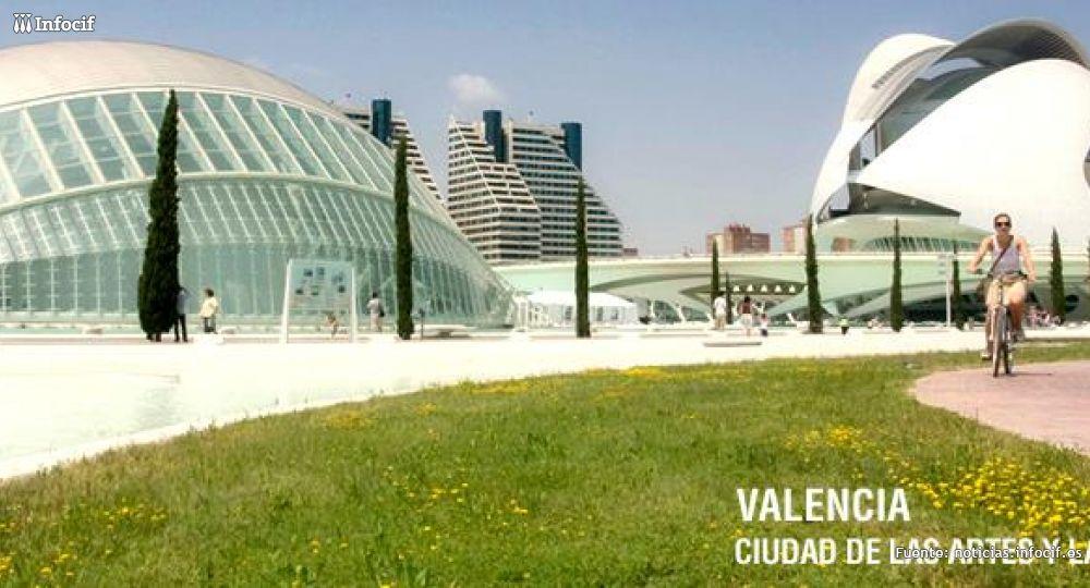 Ciudad de las Artes y las Ciencias (Valencia) Foto: Turismo Valencia