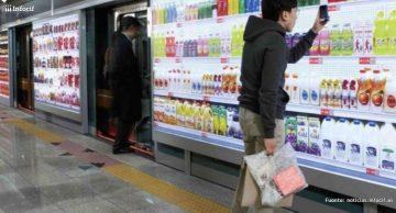 Venta por smarphone en los supermercados virtuales