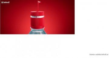 Vittel y Ogilvy crean una botella de agua que te recuerda hidratarte