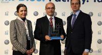 El premio por reducir el consumo de agua en la fabricación del Polo es para Volkswagen Navarra