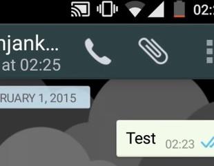Icono de llamada de voz en Whatsapp