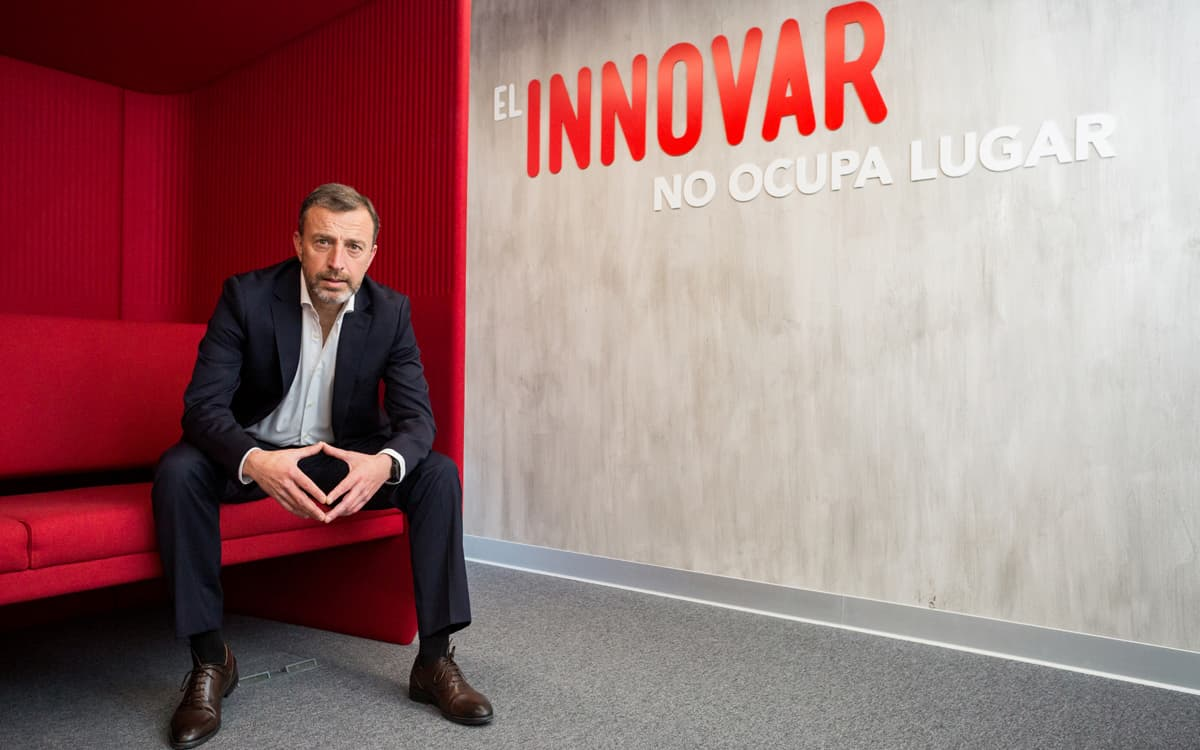 Antonio Álvarez, director territorial de Vodafone para Comunitat Valenciana, Murcia y Baleares