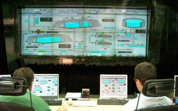 Panel de mandos de Aguas de Alicante