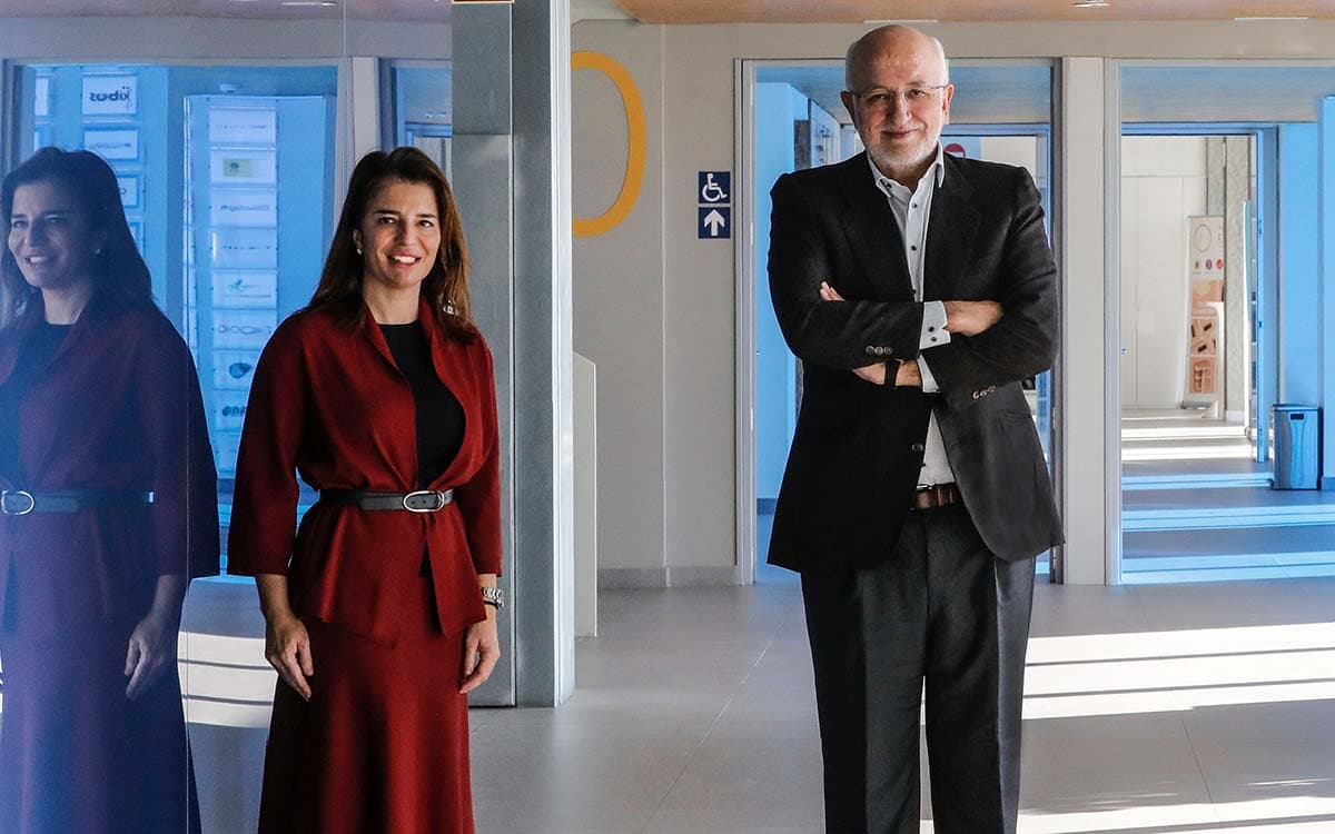 Hortensia y Juan Roig