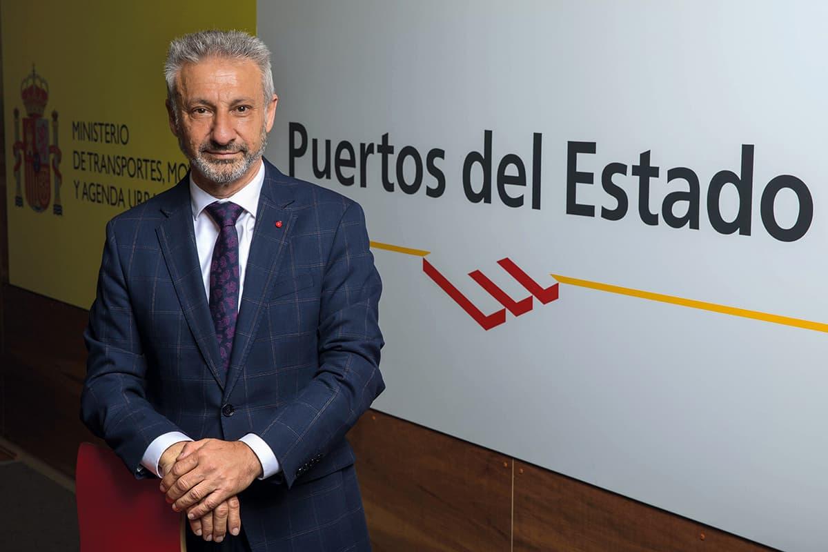 Francisco Toledo, presidente de Puertos del Estado.