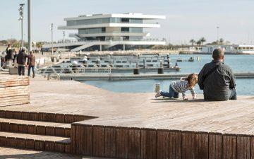 La Marina de Valencia. Foto: Vicente A. Jiménez