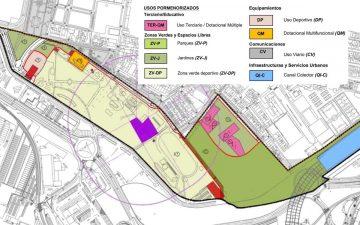 Plano de la Zona Sur 1 del Puerto de València