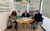 La cooperativa de crédito valenciana Caixa Popular firma un acuerdo con la Asociación de Comercio de l'Eliana