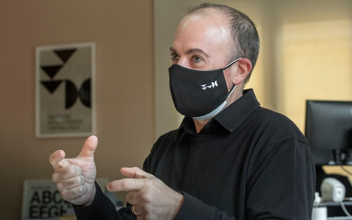 Xavi Calvo, director general de València Capital Mundial del Diseño 2022