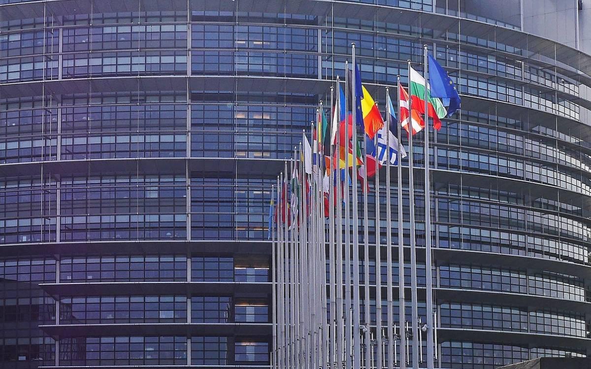 Parlamento europeo (Bruselas). Eurozona.