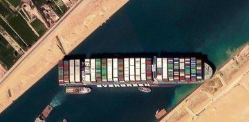 Ever Given, el buque varado en el canal de Suez