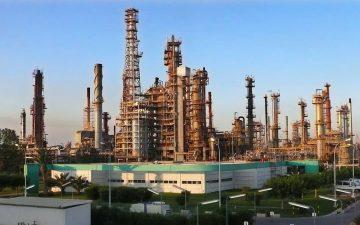 Refineria de BP en Castellon