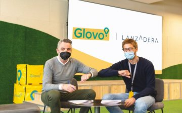 Acuerdo entre Glovo y Lanzadera