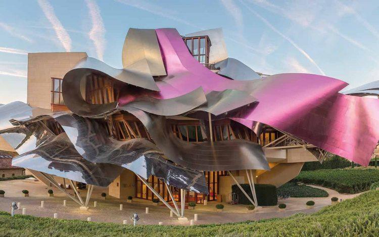 Hotel del Marqués de Riscal, obra de Frank Gehry