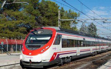 Un tren de Cercanías Renfe