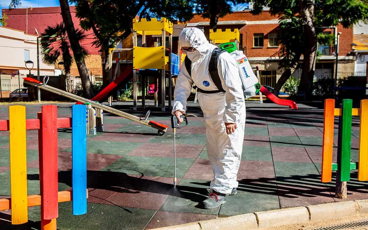 Tecnología avalada por la NASA para la desinfección de parques y jardines