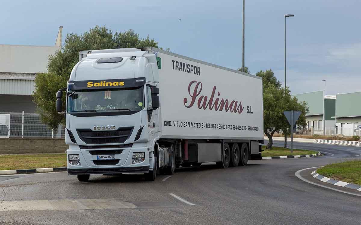 Camión de Transport Salinas