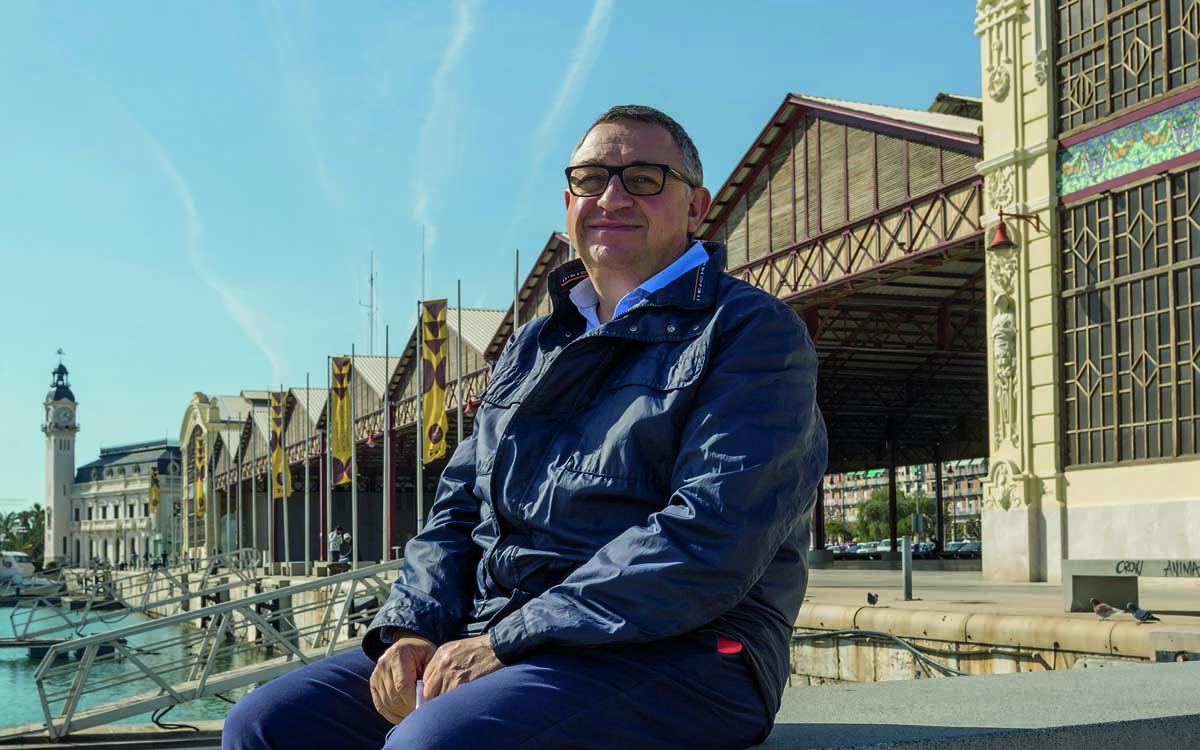 El director general de La Marina de València, Vicent Llorens