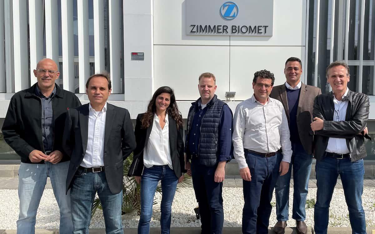 El equipo de Zimmer Biomet