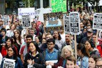 Protesta de los trabajadores de Amazon