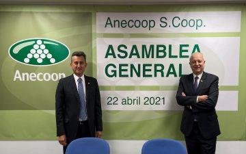 Alejandro Monzón y Joan Mir, presidente y director general de Anecoop