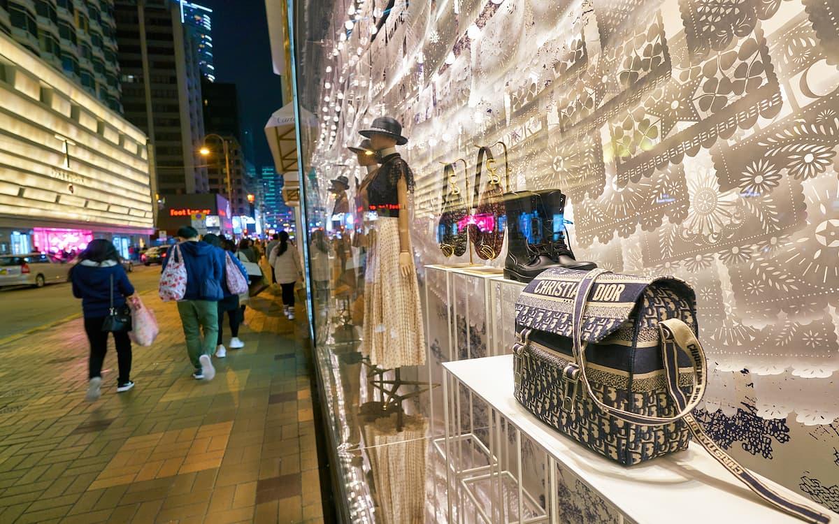 Tienda de Dior en Hong Kong