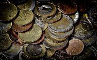 Monedas de euro. Dinero. Banco de España. Inversión.