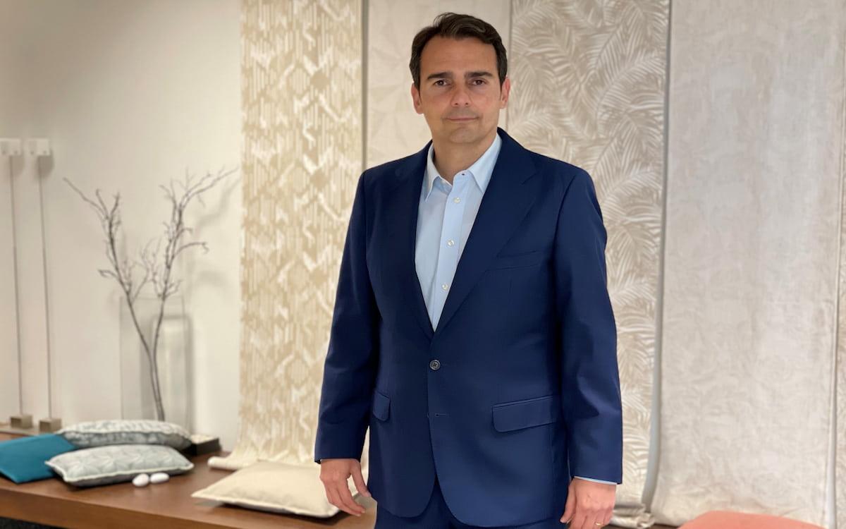 El director general de Aznar Textil, Eduardo Aznar