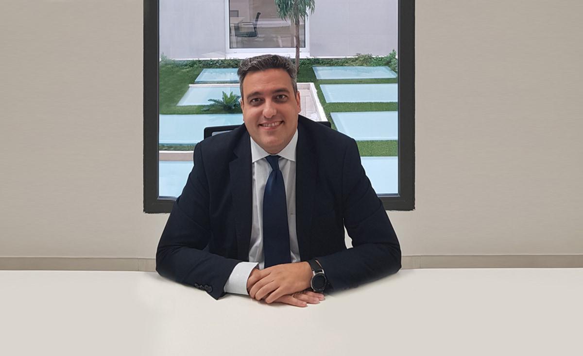 Benedicto Jiménez, director comercial de Grupo Gedesco