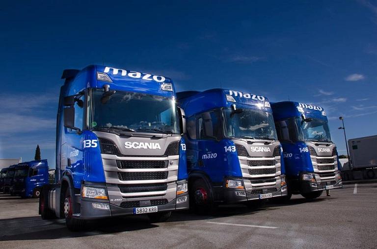 Camiones de Grupo Mazo