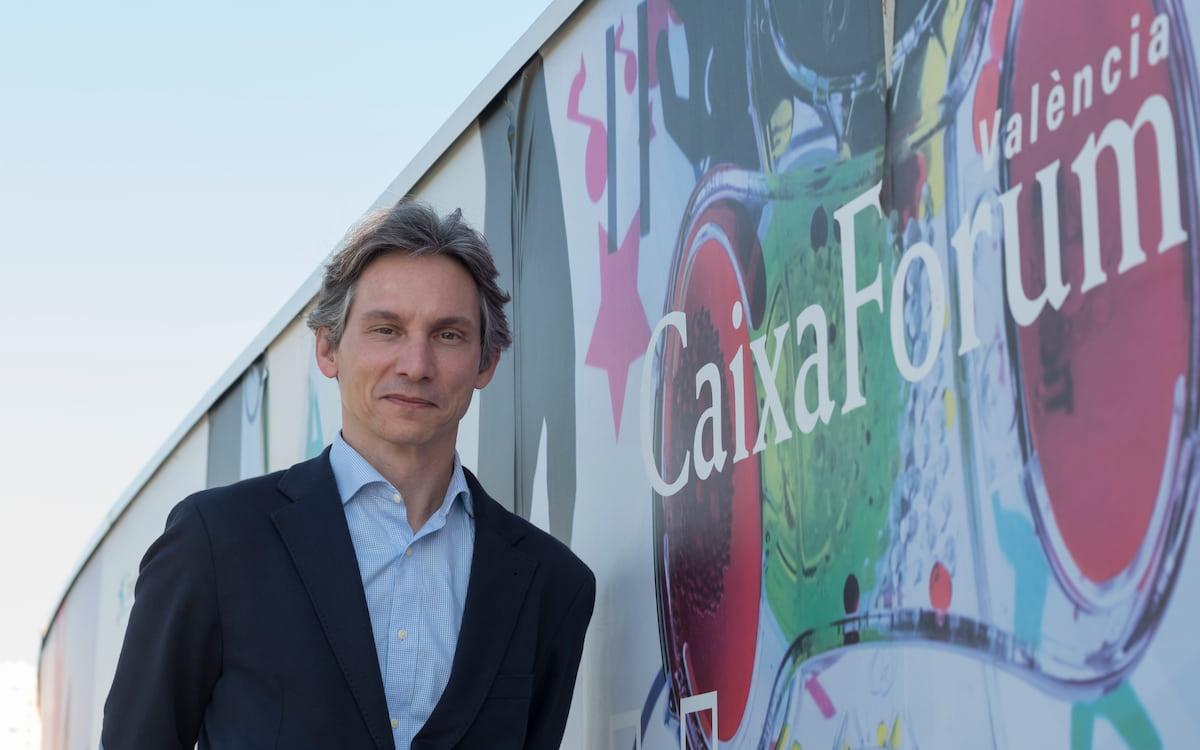 Álvaro Borrás, nuevo director de CaixaForum València