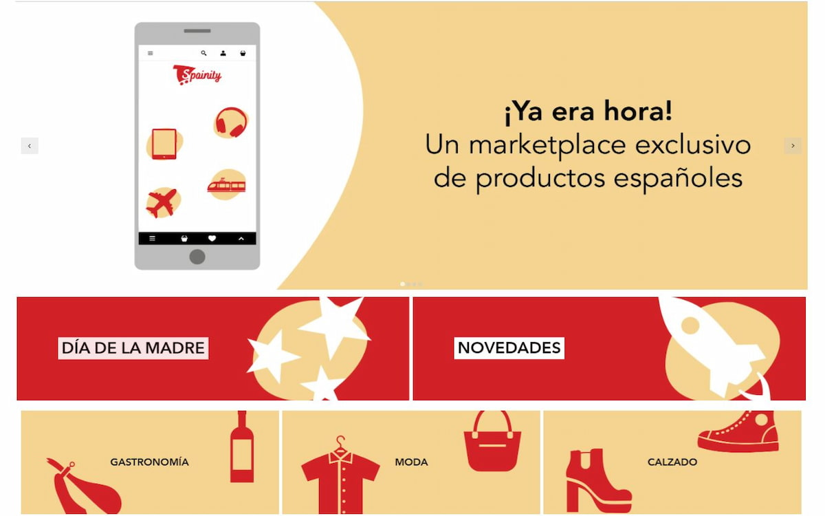 Marketplace de Spainity, el 'Amazon español'
