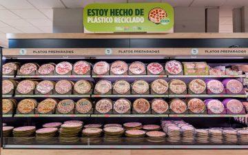 Mercadona continúa la reducción de plástico, ahora en las pizzas