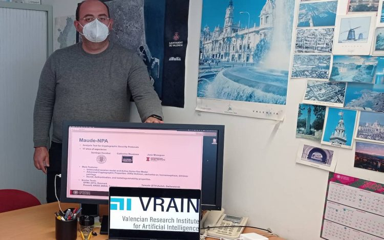 Santiago Escobar, experto en ciberseguridad e investigador del Instituto VRAIN