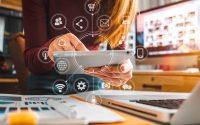 Asistente virtual en una empresa