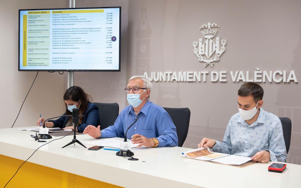 Presentación del 'Plan Marshall' de València