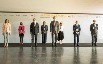 Asamblea General de la CEV con la presencia del rey Felipe VI (Fotos Vicente Jiménez)