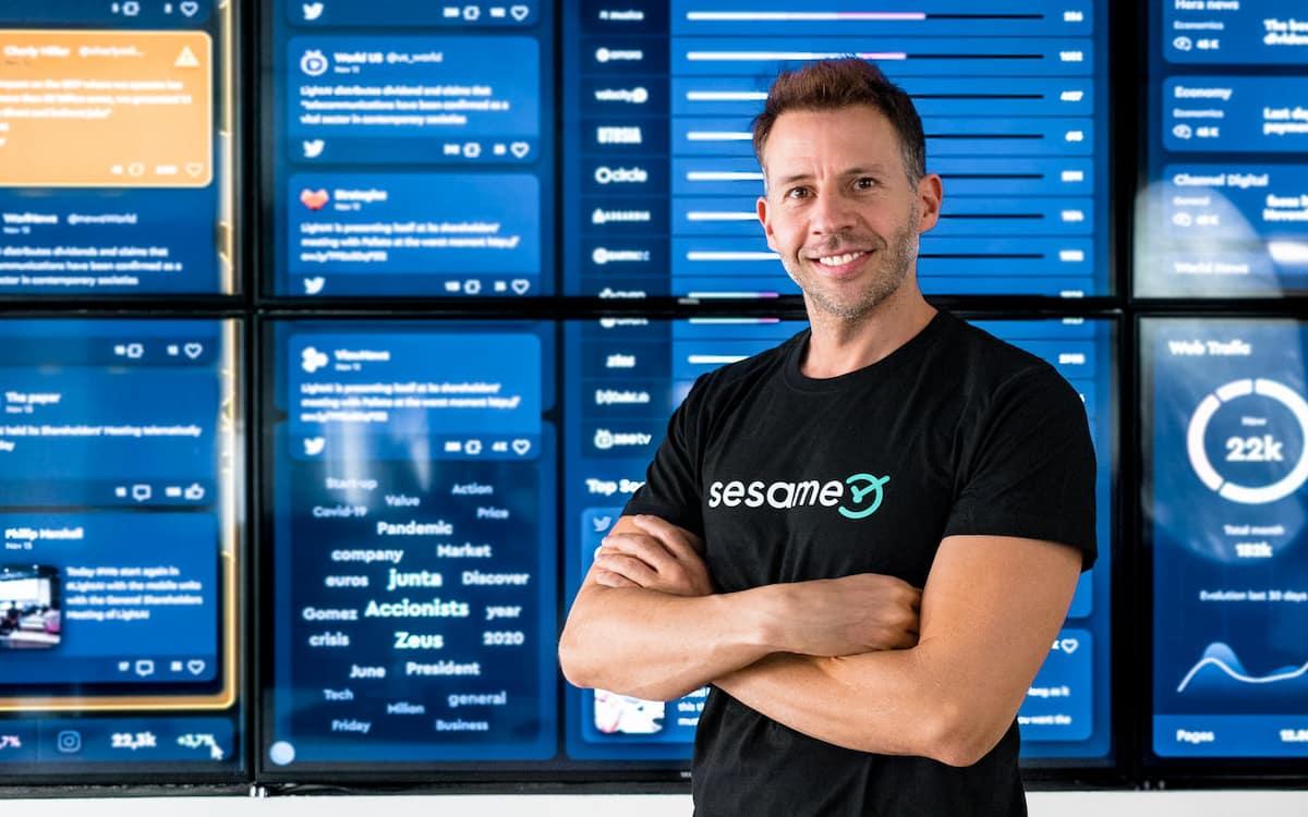 Albert Soriano, fundador y CEO de Sesame HR