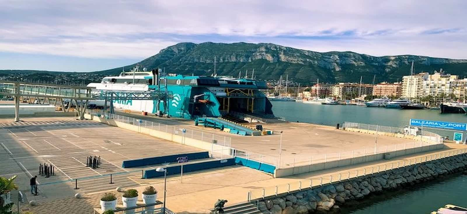 El nuevo buque sostenible de Balearia