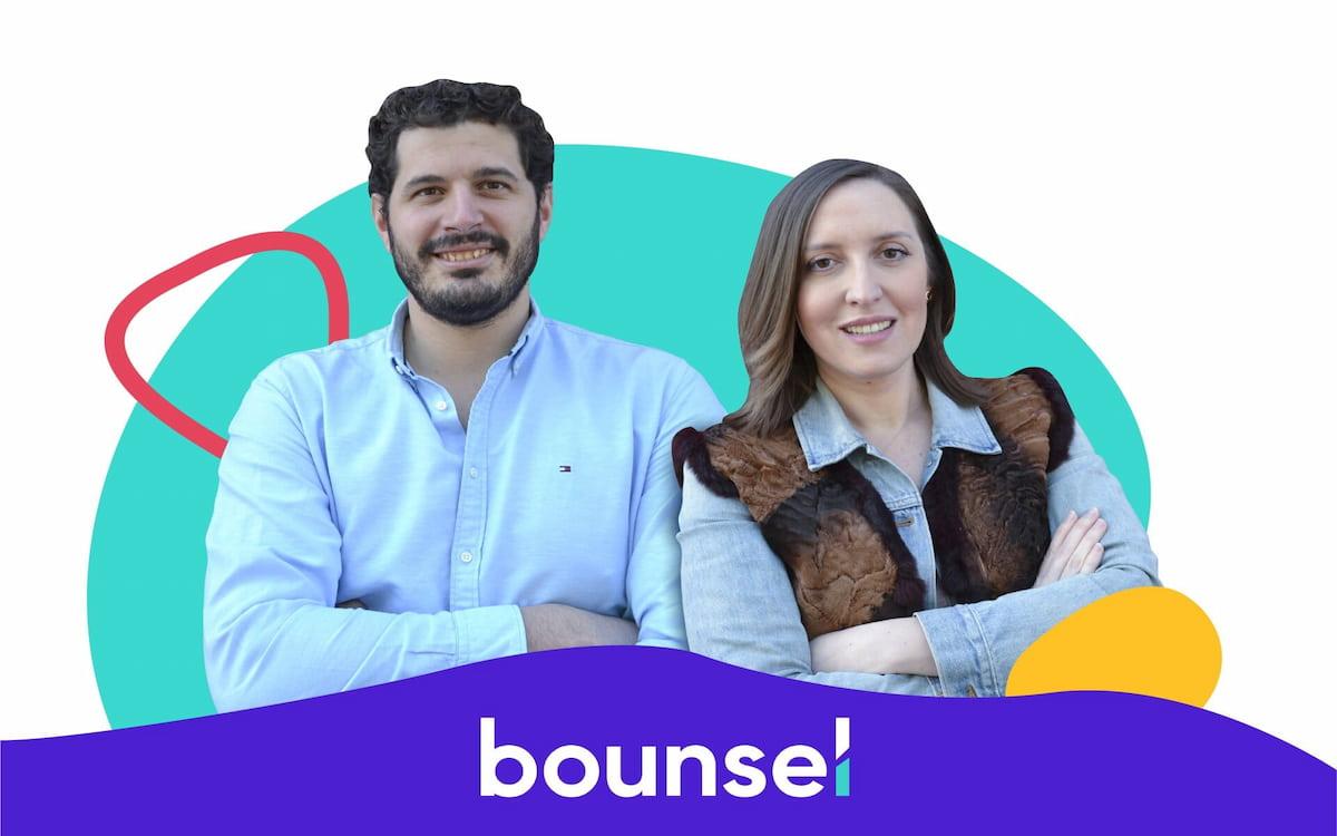 Marcos Sanz y Pilar Prados, fundadores de Bounsel