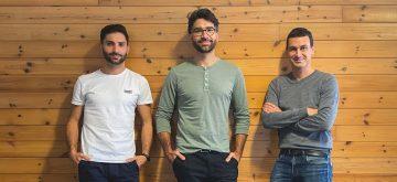 Fundadores de StockAgile. fundadores de la empresa: Joan Subirats, CTO; Miquel Subirats, CEO; y Oriol Vinzia, director de Ventas.