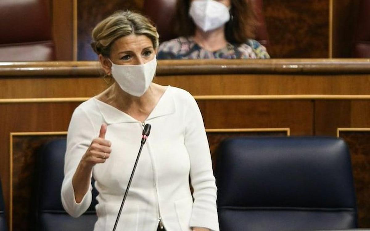 La ministra de Trabajo, Yolanda Díaz. SMI.
