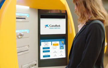 Cajero de CaixaBank