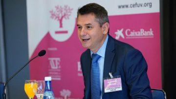 Alejandro Escribá, director de la CEF-UV