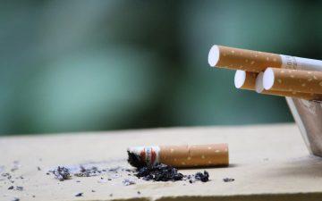 Se reduce el consumo de tabaco