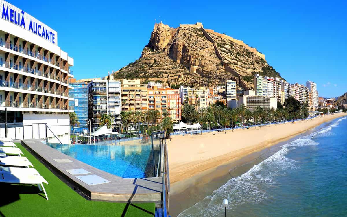 Melià Alicante. Hoteles.