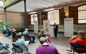 Presentación de la memoria 'Memoria sobre la Situación Socioeconómica y Laboral de la Comunitat Valenciana en 2020'