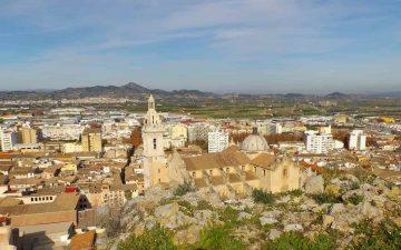Uno de los pueblos cerca de Valencia