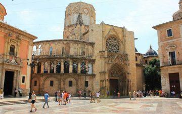 El centro de Valencia ofrece muchos rincones que ver