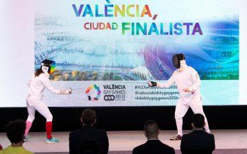 Presentación de la candidatura de València a los Gay Games 2026